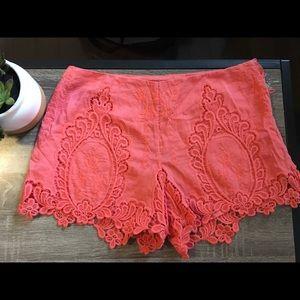 Dolce Vita coral shorts. NWT.